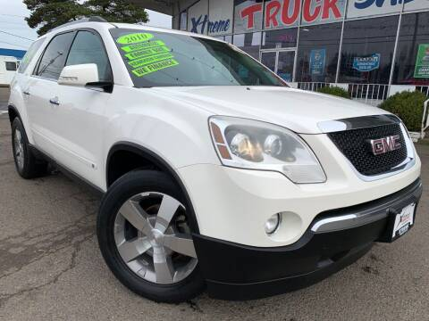 2010 GMC Acadia for sale at Xtreme Truck Sales in Woodburn OR