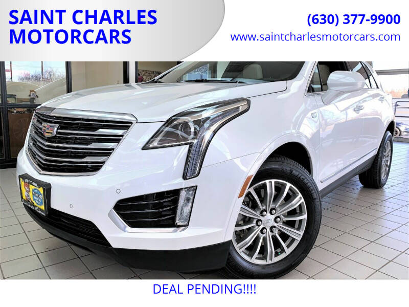 2019 Cadillac XT5 for sale at SAINT CHARLES MOTORCARS in Saint Charles IL
