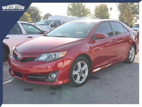 2012 Toyota Camry for sale at BARTOW FORD CO. in Bartow FL