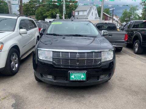 2008 Lincoln MKX for sale at Park Avenue Auto Lot Inc in Linden NJ