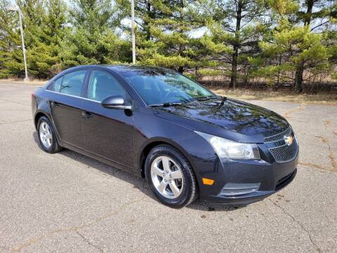 2012 Chevrolet Cruze for sale at Finish Line Auto Sales Inc. in Lapeer MI