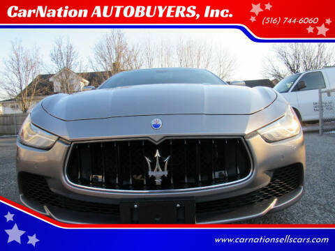 2014 Maserati Ghibli for sale at CarNation AUTOBUYERS, Inc. in Rockville Centre NY