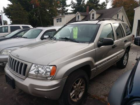 2004 Jeep Grand Cherokee for sale at E & K Automotive in Derry NH