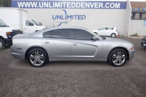 2014 Dodge Charger for sale at Unlimited Auto Sales in Denver CO