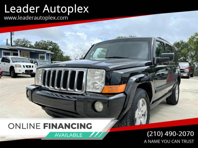 2008 Jeep Commander for sale at Leader Autoplex in San Antonio TX