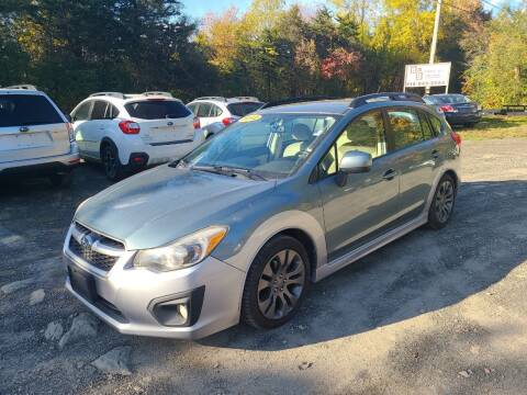 2012 Subaru Impreza for sale at B & B GARAGE LLC in Catskill NY