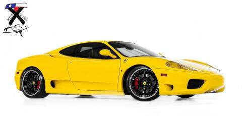 2003 Ferrari 360 Modena for sale at TX Auto Group in Houston TX