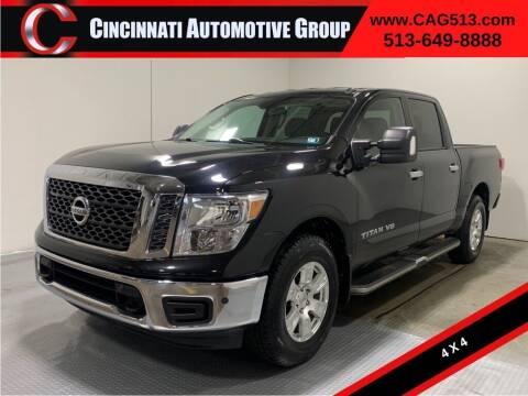 2018 Nissan Titan for sale at Cincinnati Automotive Group in Lebanon OH