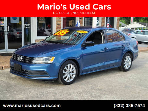 2015 Volkswagen Jetta for sale at Mario's Used Cars - South Houston Location in South Houston TX