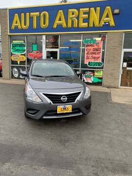 2018 Nissan Versa for sale at Auto Arena in Fairfield OH