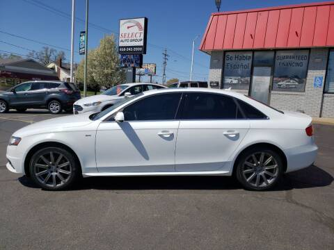 2012 Audi A4 for sale at Select Auto Group in Wyoming MI