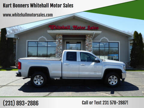 2017 GMC Sierra 1500 for sale at Kurt Bonners Whitehall Motor Sales in Whitehall MI
