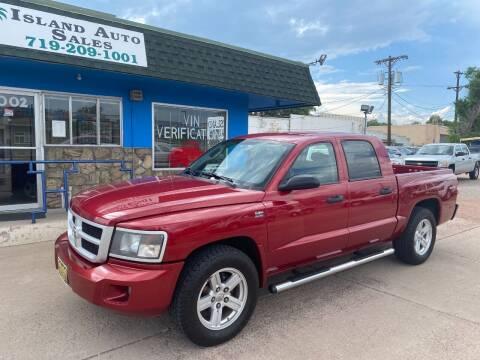 2010 Dodge Dakota for sale at Island Auto Sales in Colorado Springs CO