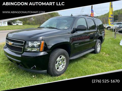 2011 Chevrolet Tahoe for sale at ABINGDON AUTOMART LLC in Abingdon VA
