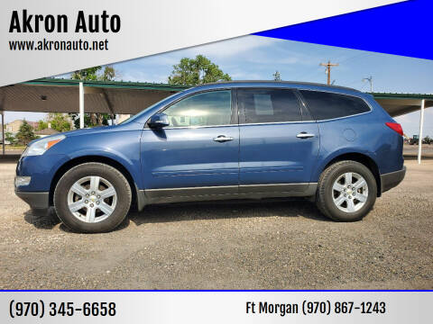 2012 Chevrolet Traverse for sale at Akron Auto in Akron CO