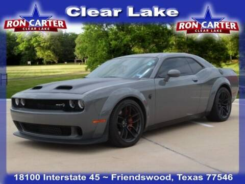 2019 Dodge Challenger for sale at Ron Carter  Clear Lake Used Cars in Houston TX