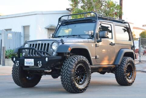 2014 Jeep Wrangler for sale at Milpas Motors in Santa Barbara CA