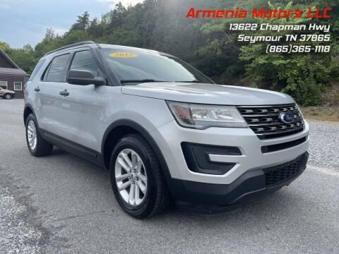 2017 Ford Explorer for sale at Armenia Motors in Seymour TN