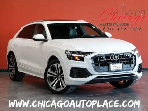 2019 Audi Q8 for sale at Chicago Auto Place in Bensenville IL
