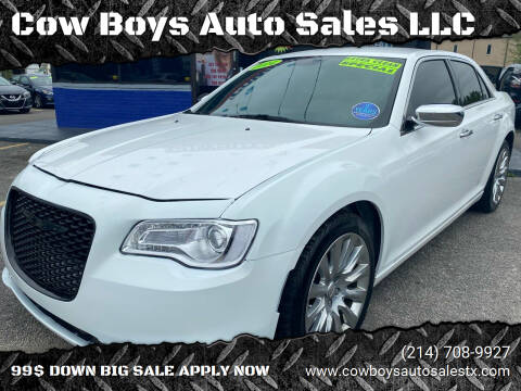 2014 Chrysler 300 for sale at Cow Boys Auto Sales LLC in Garland TX