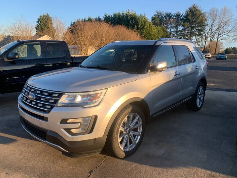 2016 Ford Explorer for sale at Getsinger's Used Cars in Anderson SC