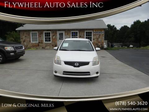 2010 Nissan Sentra for sale at Flywheel Auto Sales Inc in Woodstock GA