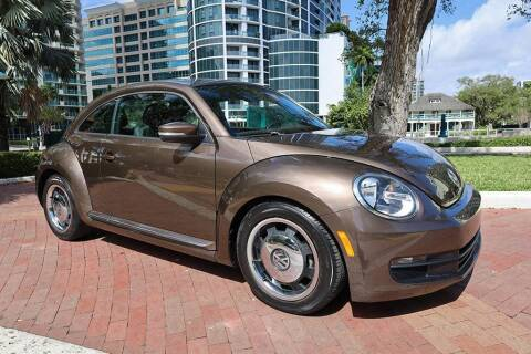 2012 Volkswagen Beetle for sale at Choice Auto in Fort Lauderdale FL