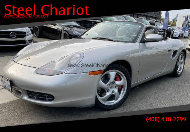 2002 Porsche Boxster for sale at Steel Chariot in San Jose CA