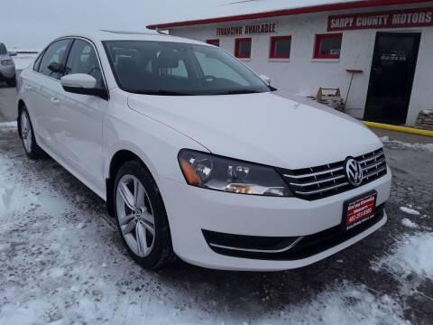 2014 Volkswagen Passat for sale at Sarpy County Motors in Springfield NE