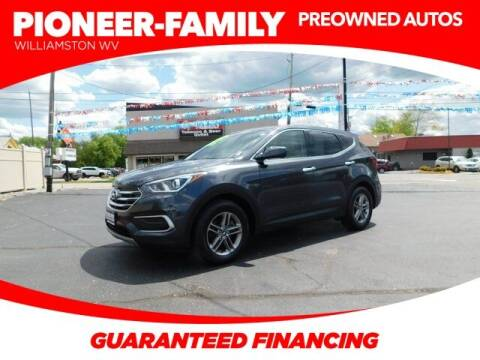 2018 Hyundai Santa Fe Sport for sale at Pioneer Family preowned autos in Williamstown WV