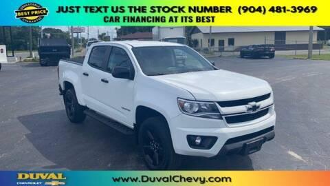 2018 Chevrolet Colorado for sale at Duval Chevrolet in Starke FL