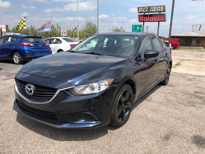 2015 Mazda MAZDA6 for sale at Ital Auto in Oklahoma City OK