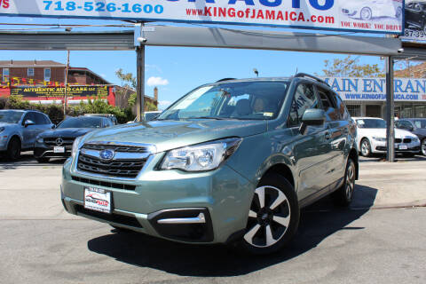 2018 Subaru Forester for sale at MIKEY AUTO INC in Hollis NY