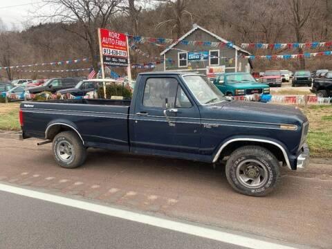 1981 Ford F-150 for sale at Korz Auto Farm in Kansas City KS