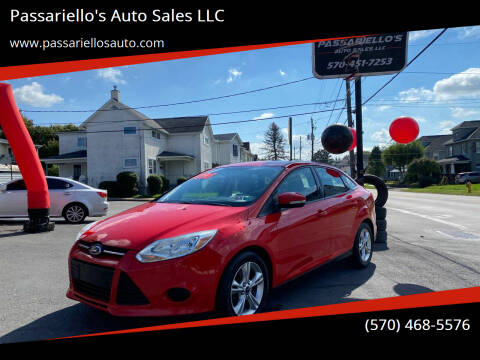 2013 Ford Focus for sale at Passariello's Auto Sales LLC in Old Forge PA