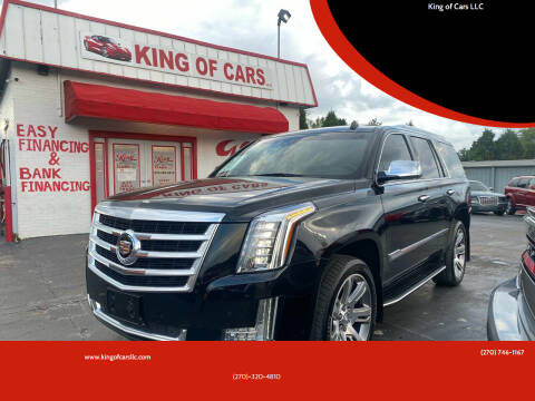 2015 Cadillac Escalade for sale at King of Cars LLC in Bowling Green KY