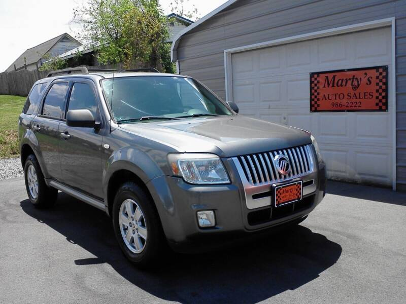 2009 Mercury Mariner for sale at Marty's Auto Sales in Lenoir City TN