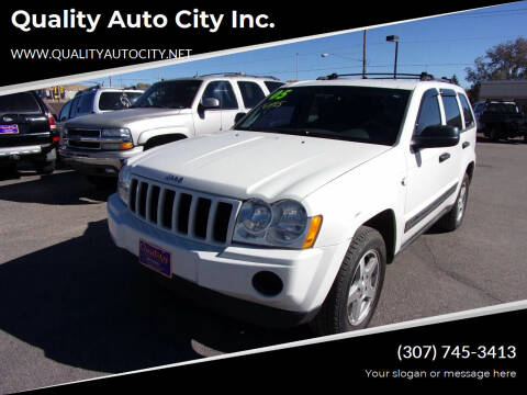 2005 Jeep Grand Cherokee for sale at Quality Auto City Inc. in Laramie WY