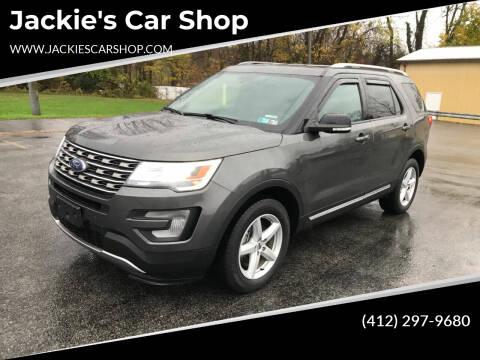 2017 Ford Explorer for sale at Jackie's Car Shop in Emigsville PA