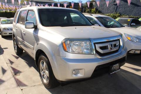 2011 Honda Pilot for sale at FJ Auto Sales in North Hollywood CA