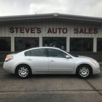 2012 Nissan Altima for sale at STEVE'S AUTO SALES INC in Scottsbluff NE