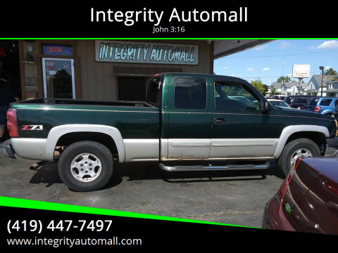 2003 Chevrolet Silverado 1500 for sale at Integrity Automall in Tiffin OH