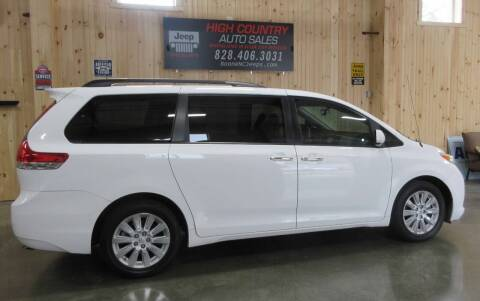2013 Toyota Sienna for sale at Boone NC Jeeps-High Country Auto Sales in Boone NC
