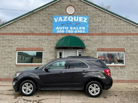 2016 Chevrolet Equinox for sale at VAZQUEZ AUTO SALES in Bloomington IL