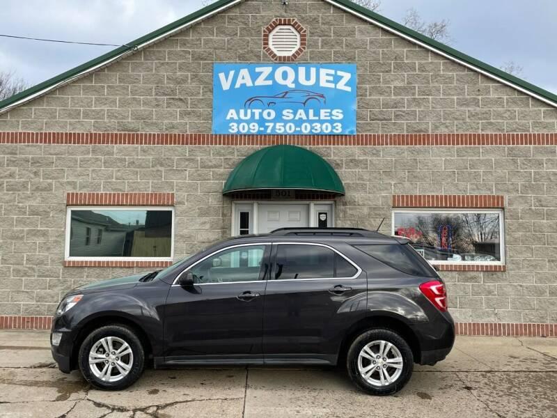 2016 Chevrolet Equinox for sale at VAZQUEZ AUTO SALES in Bloomington IL