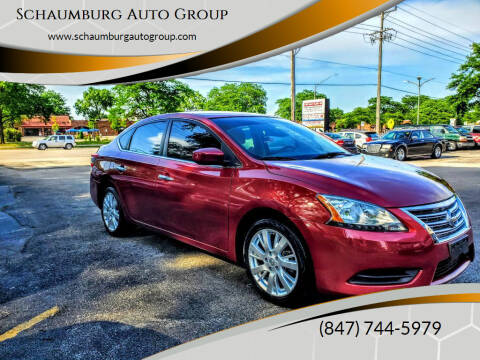2015 Nissan Sentra for sale at Schaumburg Auto Group in Schaumburg IL