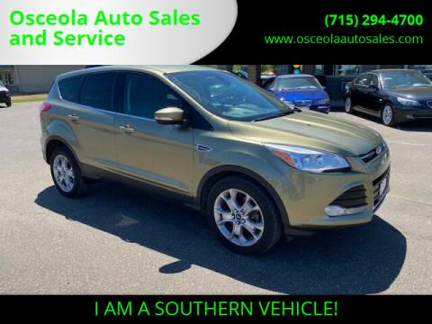 2013 Ford Escape for sale at Osceola Auto Sales and Service in Osceola WI