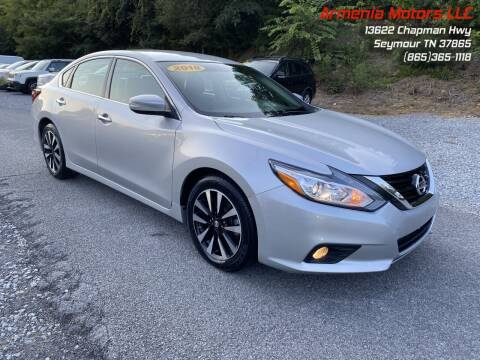 2018 Nissan Altima for sale at Armenia Motors in Seymour TN