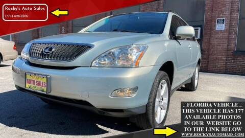 2005 Lexus RX 330 for sale at Rocky's Auto Sales in Worcester MA