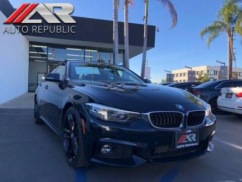2018 BMW 4 Series for sale at Auto Republic Fullerton in Fullerton CA